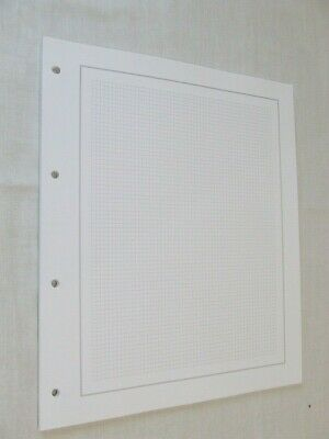 25 x WHITE 4 RING STAMP ALBUM PAGES 247mm x 290mm