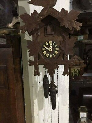 Antique 1 day German Cuckoo Clock