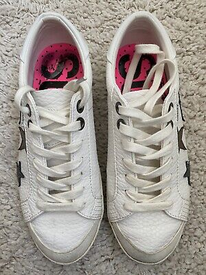 Womens Superdry Sleak Sneaker Trainers Shoes - Size UK 6