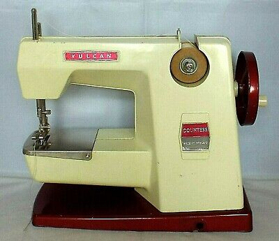 VINTAGE VULCAN COUNTESS CHILDS SEWING MACHINE 1950'S -  1960'S Made in England