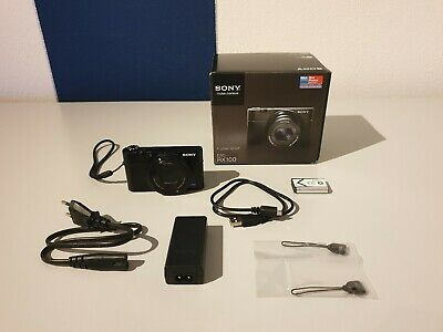 Sony Cyber-shot DSC-RX100 20.2 MP Digitalkamera - Schwarz - OVP