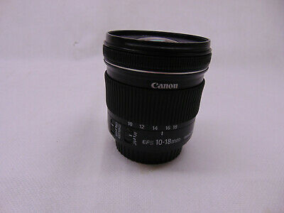 Canon EF-S 10-18mm F/4.5-5.6 IS STM Lens  #72