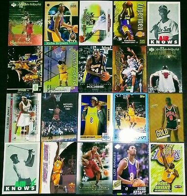 Michael Jordan + Kobe Bryant + Lebron James Rookie/Insert Card Lot Ex-Nr