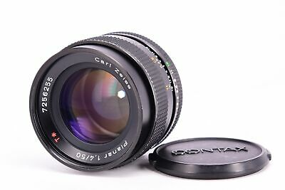CONTAX Carl Zeiss Planar 50mm f/1.4 MMJ Contax Yashica Mount [VERY GOOD] #553658