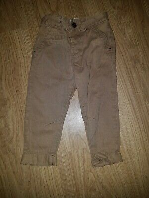 Baby Boys George Light Brown Chino trousers......age 1-1.5 years