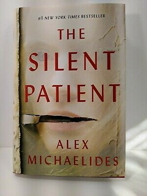 The Silent Patient - Alex Michaelides - Hardcover Book - New 2019