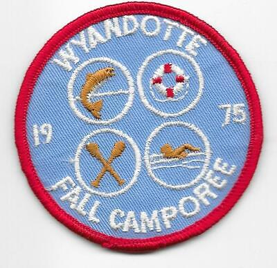 Scouting Museum Haagse Randstad Cloth Patch Badge Boy Scouts Scouting L5K G