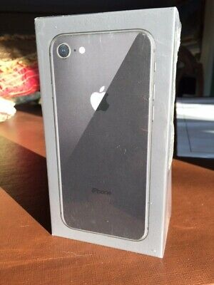 Apple iPhone 8 - 64GB - Space Gray (AT&T)(Cricket) A1905 (GSM) Sealed Unopened
