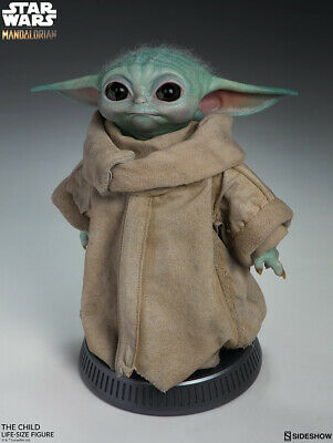 Star Wars The Mandalorian The Child Baby Yoda Life Size Figure Statue PRESALE