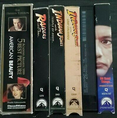Movies Video VHS Lot Sale $1 Each u you Pick your Movie