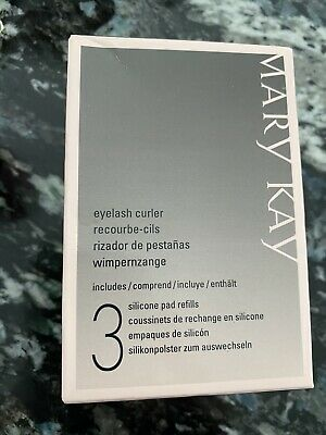 Mary Kay Eyelash Curler With 3 Silicone Pad Refills~~ Brand new~NIB