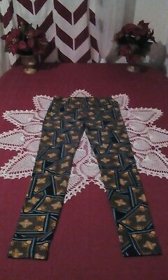 New LuLaRoe Leggings, One Size, (0-10), Multi-Color Print, Polyester/Spandex