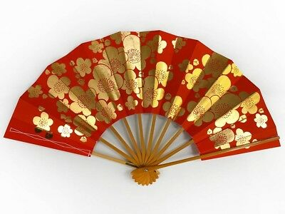 Vintage Japanese Geisha Odori 'Maiogi' Folding Dance Fan from Kyoto: MayIIC
