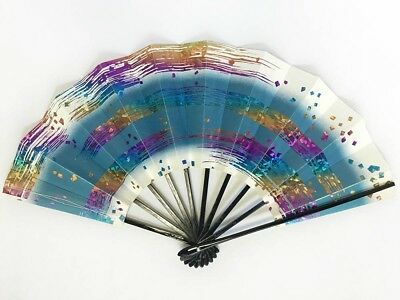Vintage Japanese Geisha Odori 'Maiogi' Folding Dance Fan from Kyoto: SeptP