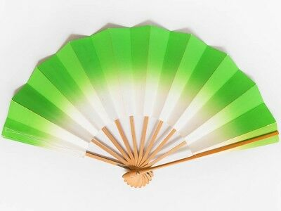 Vintage Used Japanese Odori 'Maiogi' Folding Dance Fan from Kyoto Design: BNovB