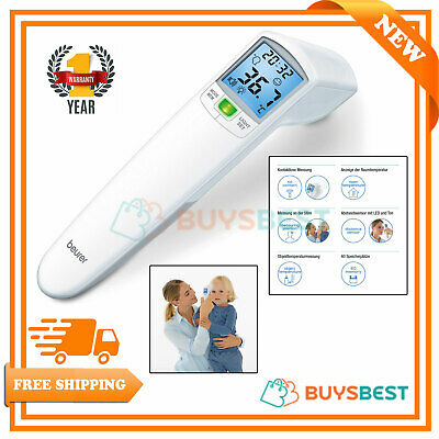 Beurer Non Contact Medical Thermometer With Correct Distance Confirmation Sensor