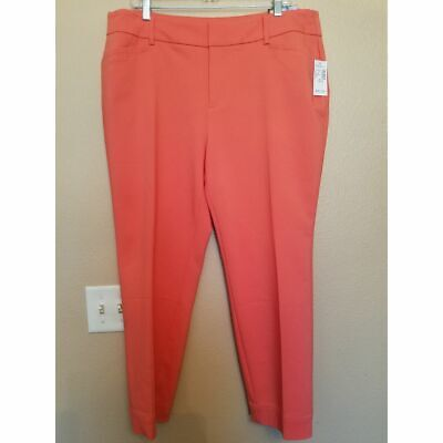 NWT Size 18W Roz&Ali Pink Dress Pants