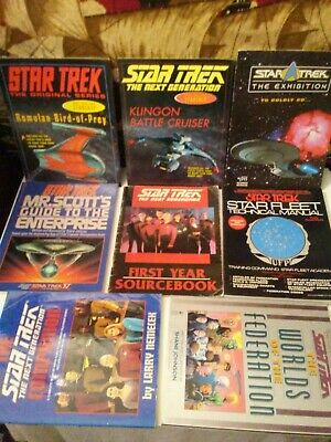Star Trek Book Lot!!  Vintage