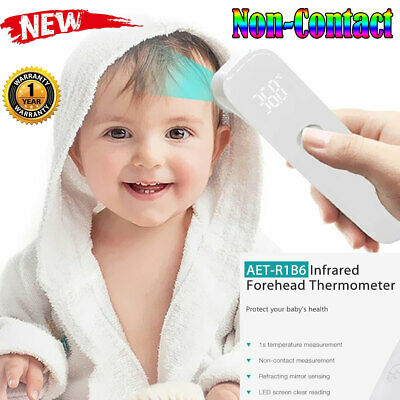 Adult Baby Smart LED IR Infrared Body Thermometer Forehead Digital Temperature
