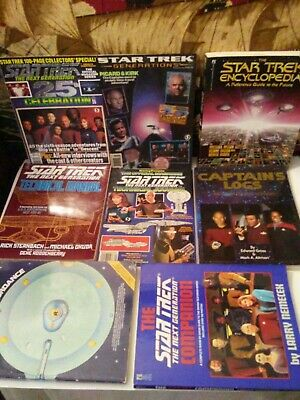 Star Trek Books Lot #2 Vintage