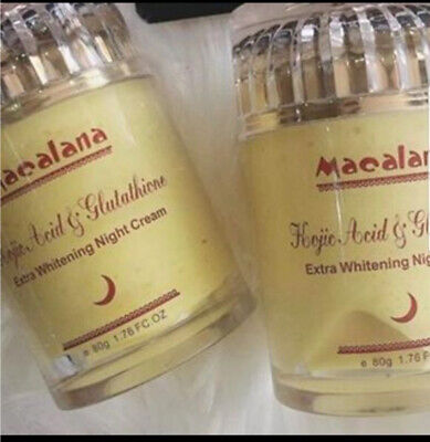 Kojic and Glutathione 5 Days Night Whitening Face Cream - For A Flawless Skin