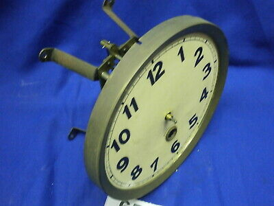 "Clock MOVEMENT, DIAL, 5 3/4"" Wall vienna style time parts spares spring driven"