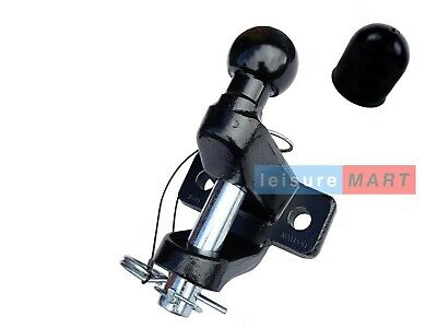 Black ball and pin towing universal coupling 3500kg Towing jaw Maypole MP87