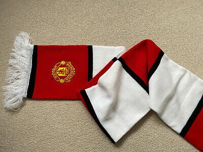 official Manchester United football scarf
