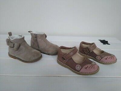 Infant Baby Girl Shoes Bundle - Size 4 & 5