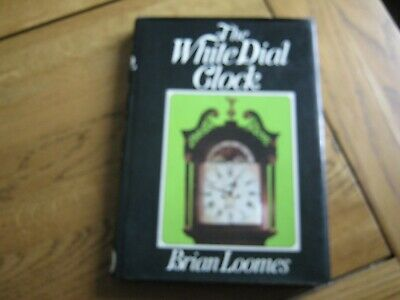 THE WHITE DIAL CLOCK BY BRIAN LOOMES signed edition