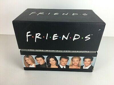 Friends The One With All The Episodes Black DVD Boxset