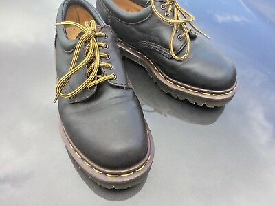 Vintage Dr Martens 8053 brown oily leather shoes UK 4 EU 37 Made in England