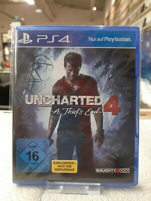Uncharted 4: A Thief's End (Sony PlayStation4, 2016)