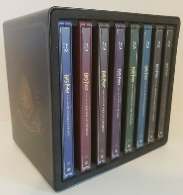 Harry Potter: Complete 8-Film SteelBook Collection [Blu-ray, Region A, 16-Disc]