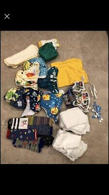 Babygoal Cloth Diapers And Burp Cloths 6 Each