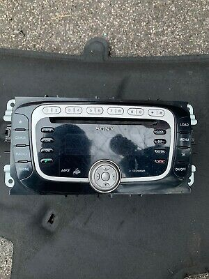 Ford Focus ST-3 MK2 Radio/CD/Stereo Head Unit WITH CODE