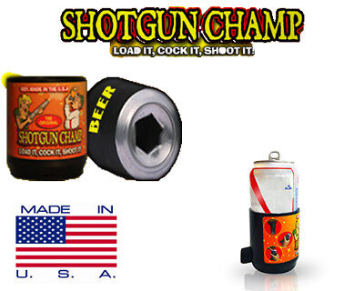 Shotgun Champ | BEER BONG FOR CANS | Shotgun Beer in 3 sec. | Made in USA