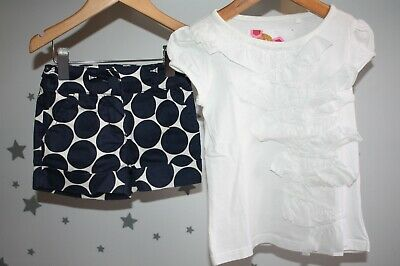 Next Girls summer outfits Top & Shorts size 3-4 years