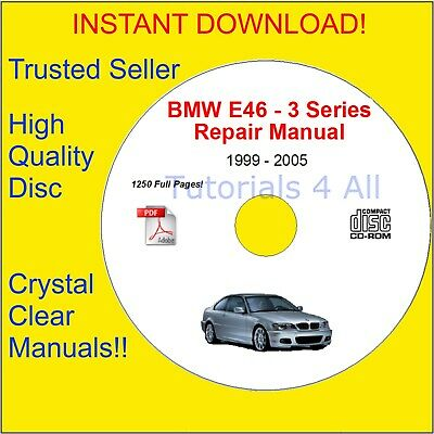 BMW E46 Service Repair Body Manual OFFICIAL! PDF DOWNLOAD