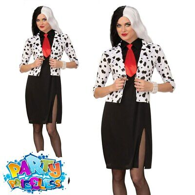 #Dog Lovin Diva Cruella De Vil Wig Tv Book /& Film Character Halloween