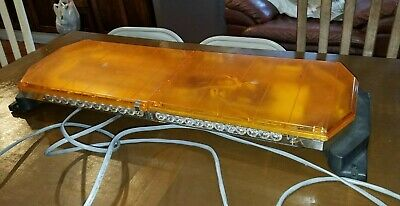 Code 3 21TR Amber tower low profile 36 inches LED Lights