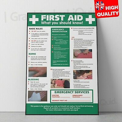 Fire Action Workplace Safety Notice Sign Health Emergency Poster A5 A4 A3 A2 A1