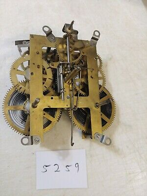 Antique Ingraham Tambour Mantle Clock Movement
