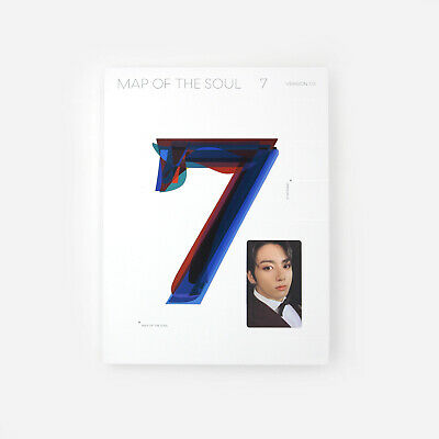[BTS] MAP OF THE SOUL : 7 / Version. 3 Album / On  / Album + Jungkook pc