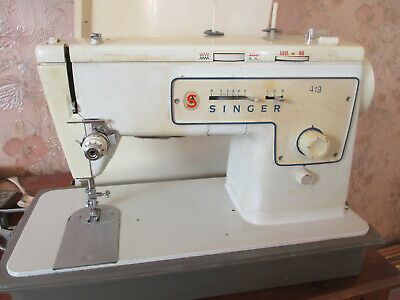 Singer 413stylist Elect Sewing Machine, with case/foot pedal
