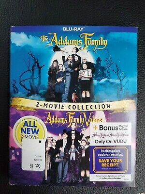 The Addams Family/Addams Family Values 2 Movie Collection [New Blu-ray] 2 Pack