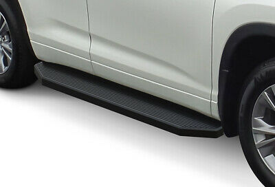 iBoard Black Running Boards Style Fit 14-19 Toyota Highlander