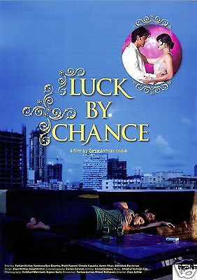 Luck By Chance - 2009 - Zoya Akhtar - Filmposter A4