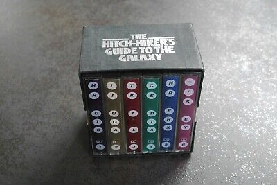 Hitchhikers Guide to the Galaxy BBC radio series - cassette collection - rare