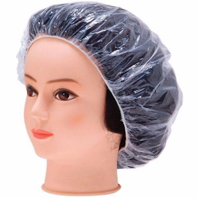Disposable Shower Caps Bathing Elastic Clear Hair Care Hat